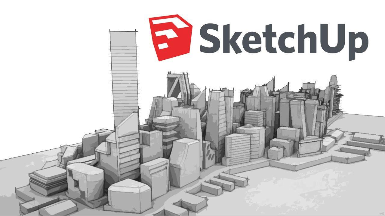 برنامه ی Sketchup