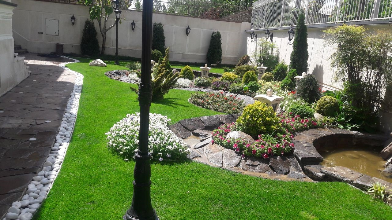 کارایی طراحی فضای سبز