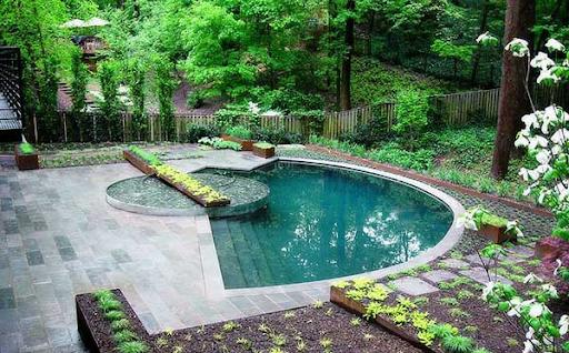 تعبیه حوض و آبگیر های غیر طبیعی: