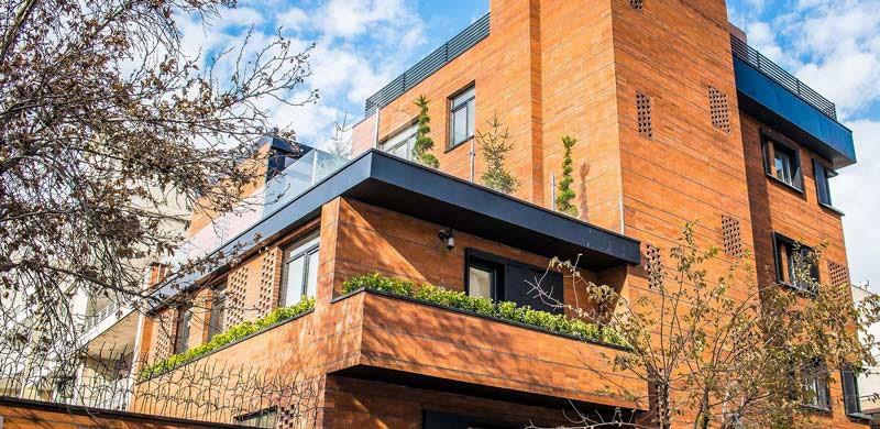 انواع طراحی نمای ساختمان مسکونی