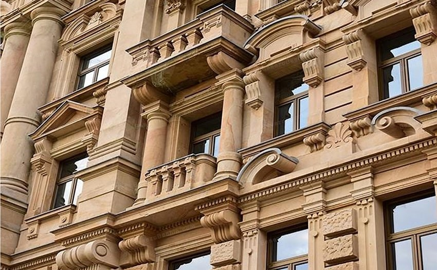 انواع سنگ هایی که در نمای ساختمان های مورد استفاده قرار می گیرد