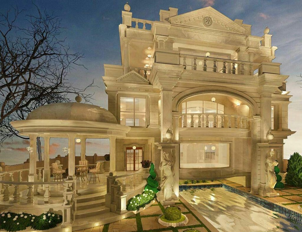 سومین اصل در نمای ساختمان های یک طبقه مصالح بوم آورد است