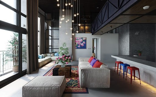 سبک طراحی داخلی مدرن: