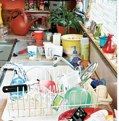 آشپزخانه کثیف چه مزایایی دارد؟