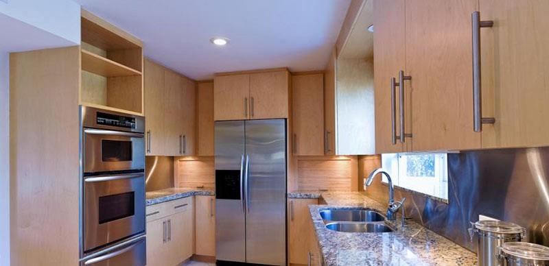 آیا آشپزخانه پنهان در خانه های بزرگ هم قابل اجرا می باشد؟