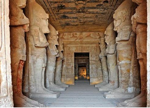 طراحی داخلی در دوران مصر باستان