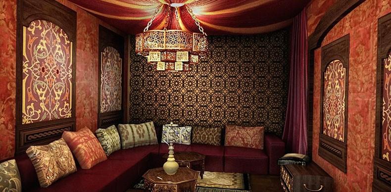 سبک طراحی داخلی خاورمیانه ای:
