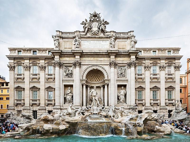 طراحی نمای ویلا به سبک رومی