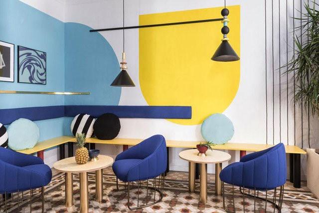 اصل رنگ ها در طراحلی داخلی: